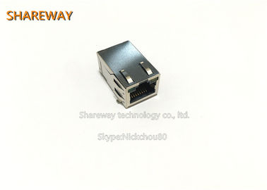 Chiny J0C-0005NL Surface Mount 1*1 Port RJ45 Modular Jack For Computer fabryka