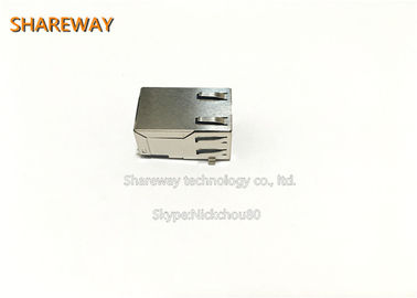 Chiny J0C-0006NL Reduced Size RJ45 Modular Jack Meets IEEE 802.3 specification dystrybutor