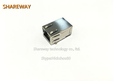 Chiny JV011I21NL High Performance SMT Contacts RJ45 Modular Jack fabryka