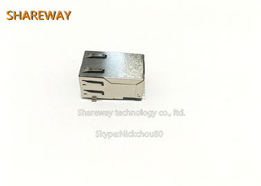 Chiny JX30-0005NL SIngle Port RJ45 Connector with/without LED RJ45 Modular Jack fabryka